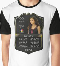 WESTWORLD - TV SHOW - MAEVE STATS - FIFA FUT Graphic T-Shirt