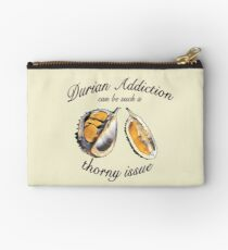 Durians are a thorny issue Studio Pouch