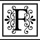 Letter F Monogram by imaginarystory