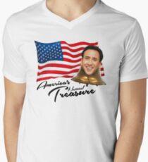 America's National Treasure - Black Text T-Shirt