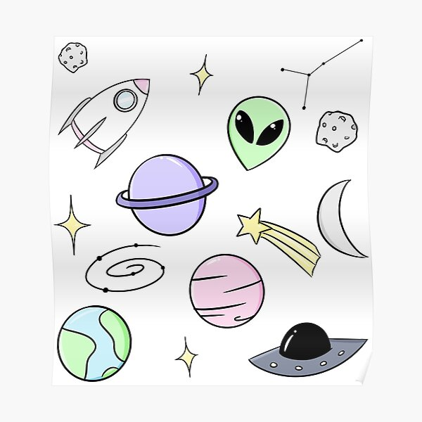 Space Aesthetic Tumblr Gifts Merchandise Redbubble