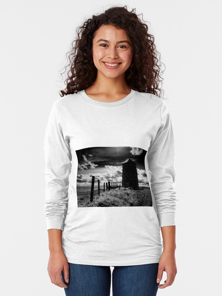 Alternate view of St. Monans' Windmill Long Sleeve T-Shirt