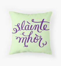 Slainte Mhor - Outlander  Throw Pillow