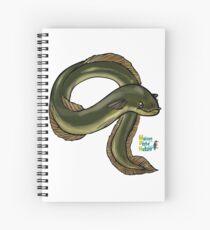 Anguille eel Spiral Notebook