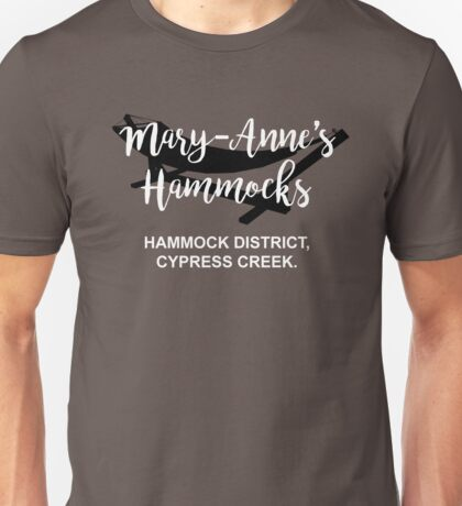 Mary-Anne's Hammocks – Cypress Creek, The Simpsons Unisex T-Shirt