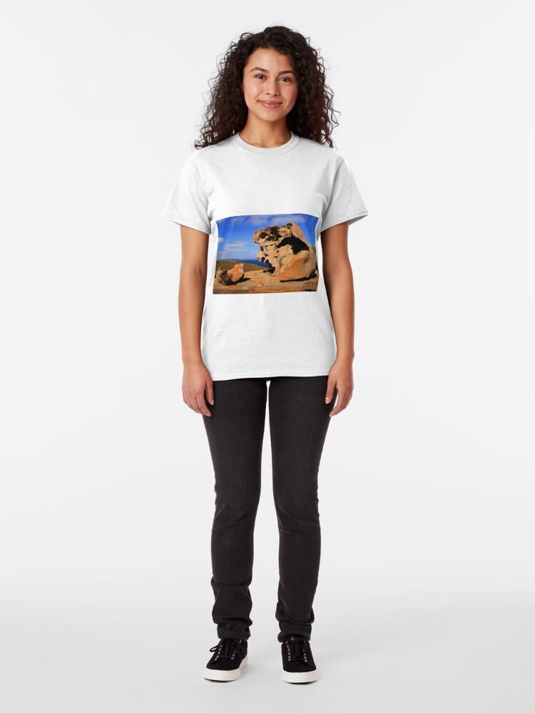 Alternate view of Dali Landscape Classic T-Shirt