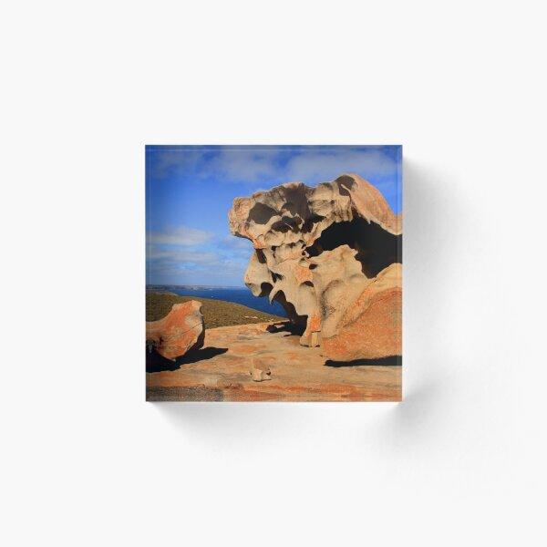 Dali Landscape Acrylic Block