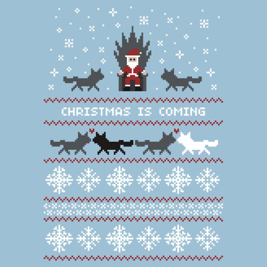 TShirtGifter presents: Christmas Is Coming Santa Edition  | Unisex T-Shirt
