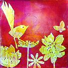"Yellow Bird by Belinda ""BillyLee"" NYE (Printmaker)"