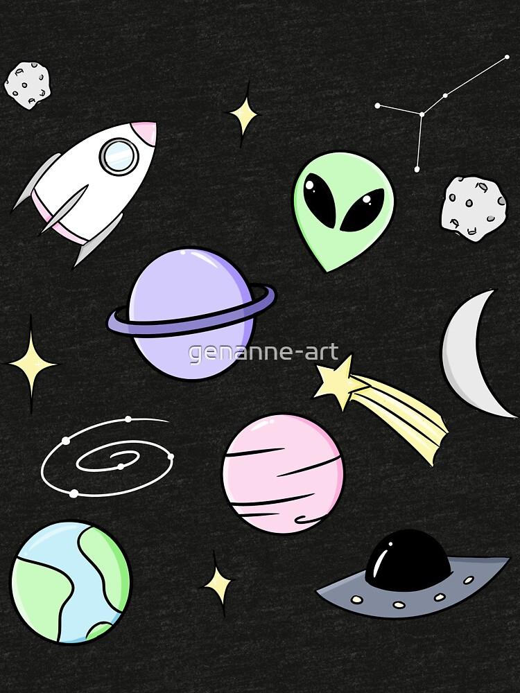 Raumästhetik (schwarz) von genanne-art