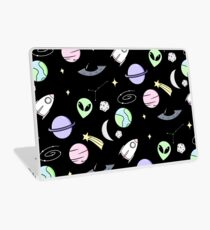 Space Aesthetic (Black) Laptop Skin