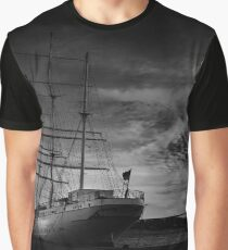 gorch fock, black and white Graphic T-Shirt