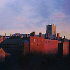 The Lace Market in Red Light, Nottingham by medlin