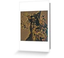 Insect Worship Greeting Card