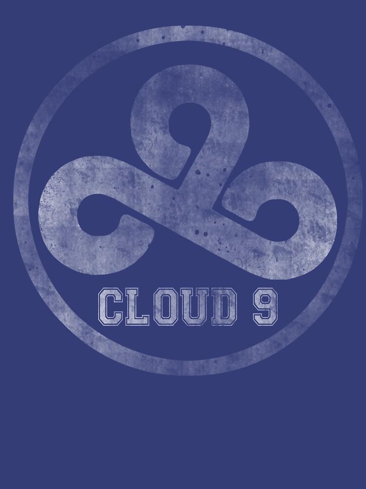 Vintage Team Cloud 9  | Unisex T-Shirt