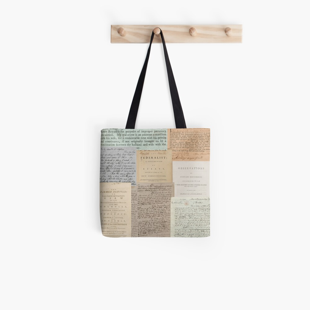 Alexander Hamilton Papers Collection Tote Bag