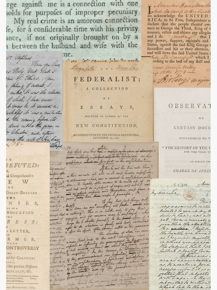 Alexander Hamilton Papers Collection by kebenson