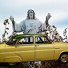 "Jesus Welcomes ""The Car That Killed Hudson"" Into Heaven by Bryan D. Spellman"