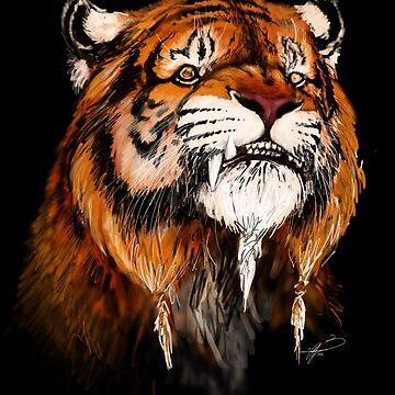 Tiger character by Jamaal-Raoof