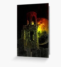 The Ruins Of Blarney Castle Ireland Greeting Card