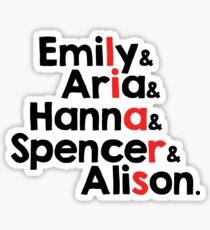 Little liars Sticker