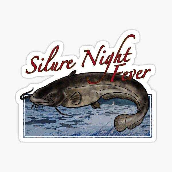 Silure night fever Sticker