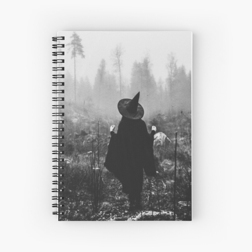Forest Blessings Spiral Notebook