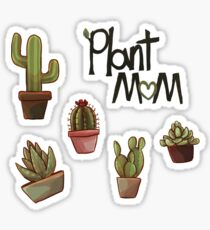 Plant Mom- Cactus Sticker