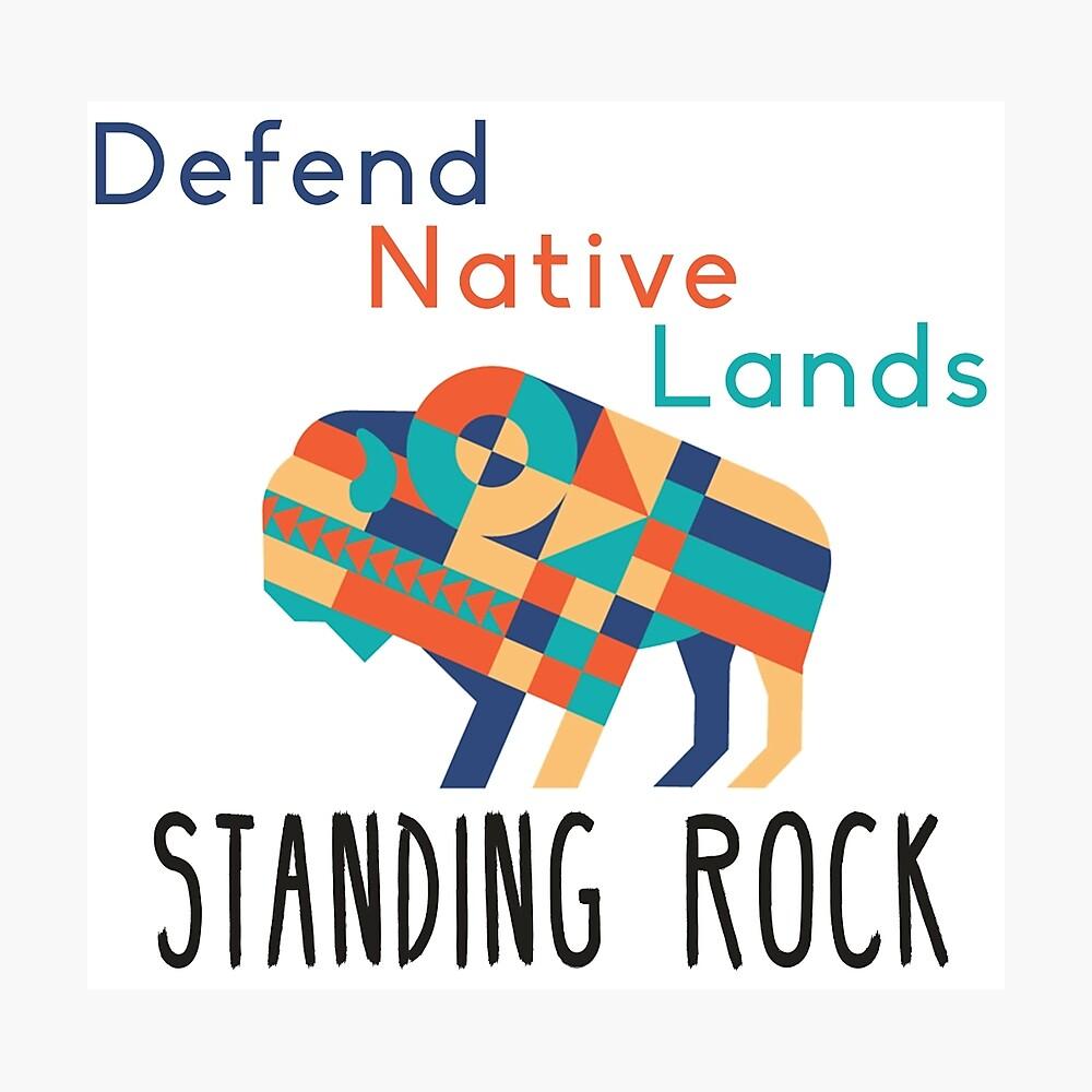 Standing Rock! Lámina fotográfica
