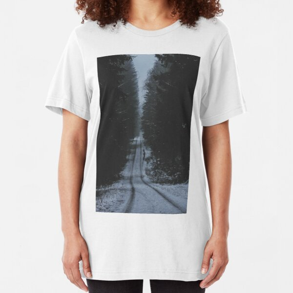 Not The Road Home I Slim Fit T-Shirt