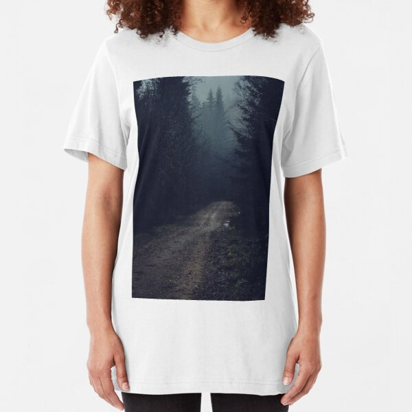 Not The Road Home II Slim Fit T-Shirt