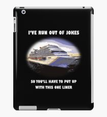 One-liner iPad Case/Skin
