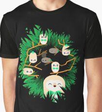 Rowlet Nest Graphic T-Shirt