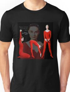 Audrey in red T-Shirt