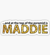 dance moms maddie sticker Sticker