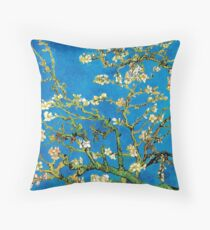 Vincent Van Gogh - Almond Blossoms Fine Art Painting Throw Pillow