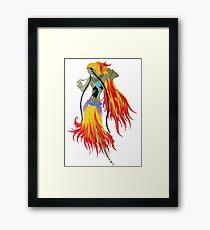 """Art Deco Design by Erte """"Gypsy"""" Framed Print"""