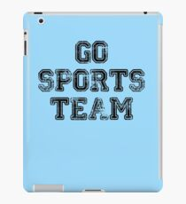 Go Sports Team iPad Case/Skin