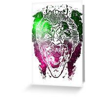Galactic Joker 1 Greeting Card