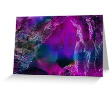 Bringer of Light | Alcohol Ink Abstract Greeting Card
