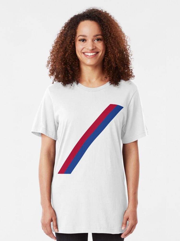 Vista alternativa de Camiseta ajustada Fajín del palacio