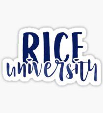 Rice University - Style 1 Sticker