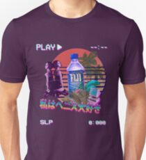 Vaporwave Fiji Bottle Unisex T-Shirt