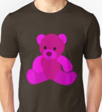 Bright Pink Teddy Bear T-Shirt