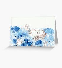 My Ophelia - Meditation on Water Greeting Card