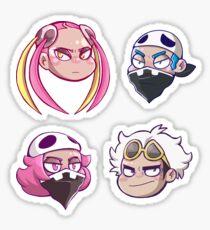 Chibi Team Skull Sticker
