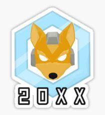 Fox 20XX Melee Shine Sticker