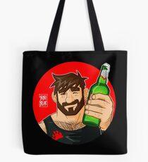 ADAM LIKES BEER Tote Bag