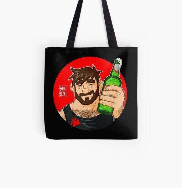 ADAM LIKES BEER All Over Print Tote Bag