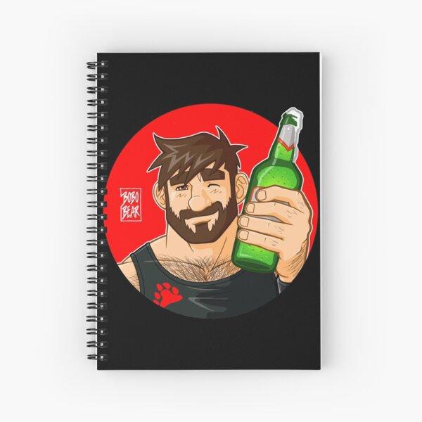 ADAM LIKES BEER Spiral Notebook